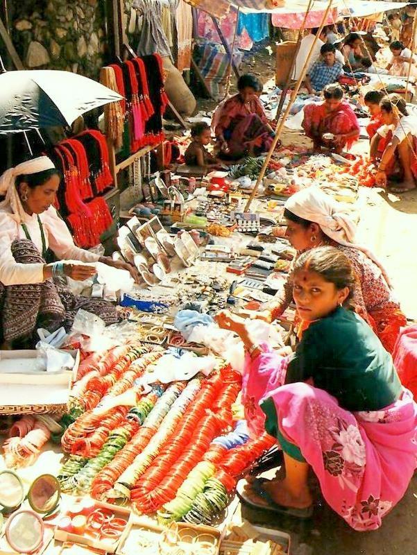 Market in Pokhara, Nepal