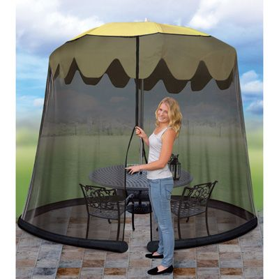9ft. Patio Table Umbrella Screen