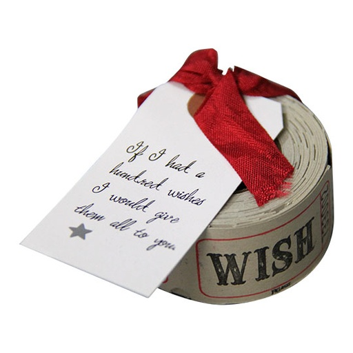 This book of wish tickets is special - from www.pruetrollope.com.au