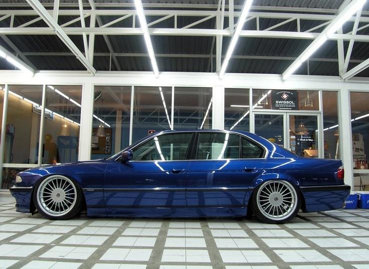 E38 7 series on Alpina wheels e38 bmw alpina