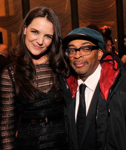 Katie Holmes e Spike Lee