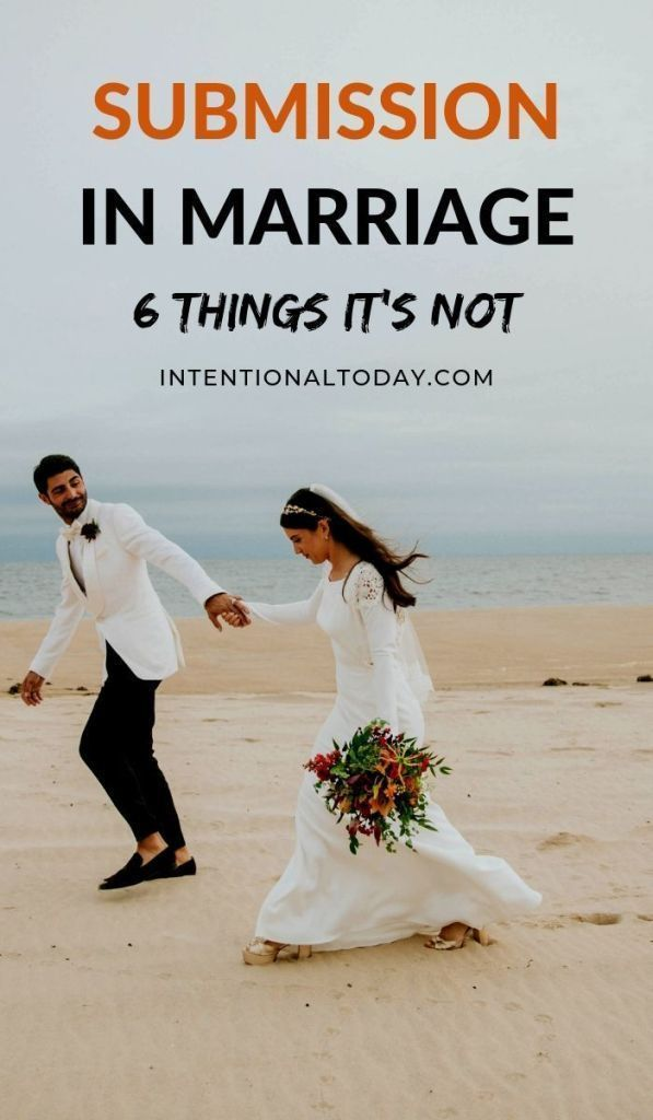 6 Things Submission in Marriage is Not
