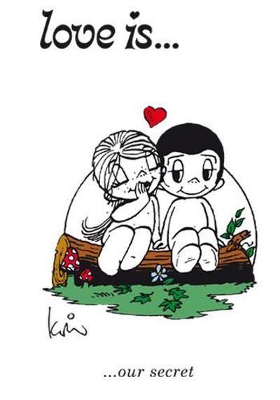 Love is... our secret