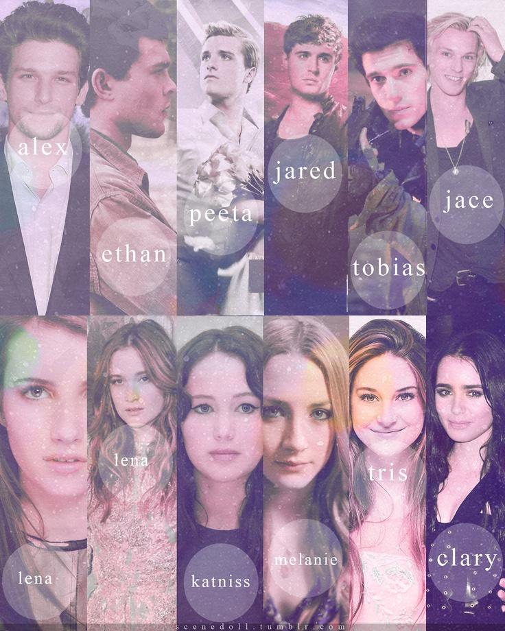 boek karakters