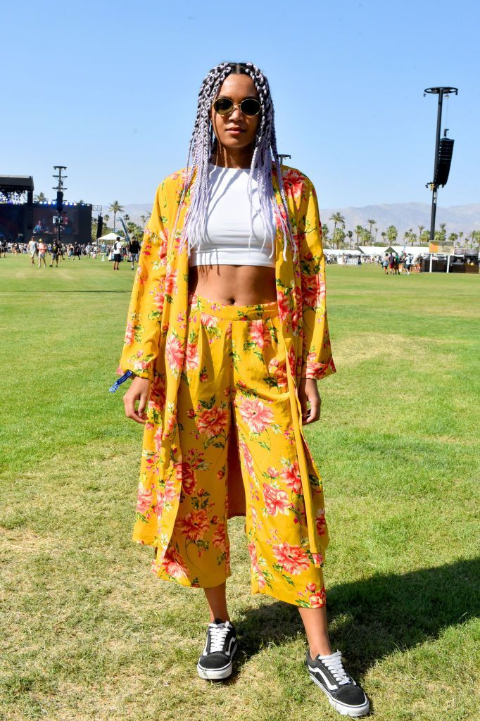 all the best street style from coachella 2018 fashion week