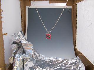 jewelry photography light box