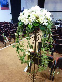 church flower arrangements - Google Search