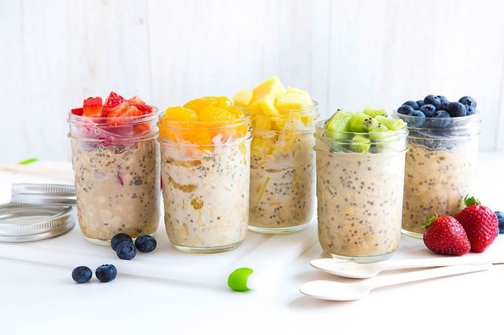 Don't want hot cereal for breakfast on a hot day? Try our 7-Grain or Ranch Oats cereals in your favorite #overnightoatmeal recipes for a cool delicious and healthy start to your day!  http://ift.tt/2qLMh4u #healthyeatingotd