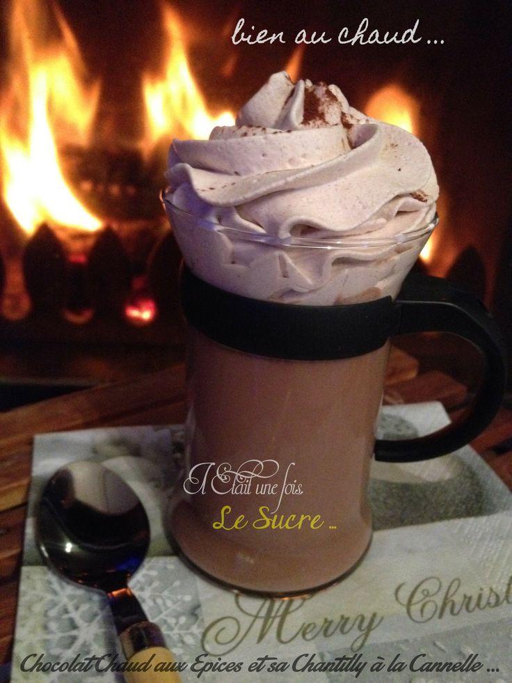 Chocolat Chaud aux épices et sa Chantilly à la Cannelle