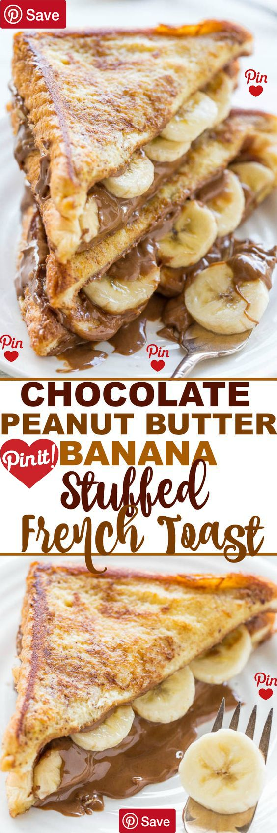 Peanut butter and bananas is such a classic combination that always tastes good. I used to eat peanut butter and banana sandwiches as a kid  Ingredients  Vegetarian  Produce  1 Banana medium  Refrigerated  2 Eggs large  Condiments  8 tbsp Chocolate peanut butter  Baking & Spices   tsp Cinnamon  1 tbsp Granulated sugar  Bread & Baked Goods  4 slices Texas toast  Dairy  1 About 2 tablesoons unsalted butter   cup Milk #delicious #diy #Easy #food #love #recipe #recipes #tutorial #yummy @mabarto…