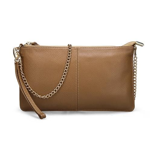 Item Type: Handbags Style: Fashion Genuine Leather Type: Cow Leather Handbags Type: Day Clutches Gender: Women Lining Material: Polyester Exterior: Silt Pocket Closure Type: Zipper Number of Handles/Straps: Two Shape: Clutch Pattern Type: Solid Hardness: Soft Interior: Cell Phone Pocket,Interior Zipper Pocket Main Material: Genuine Leather Decoration: None Occasion: Versatile Handbags Type: Shoulder bags Style: Casual Evening Bags: Genuine leather bag Shape: Envelope Gender: Women shoulder bag,F