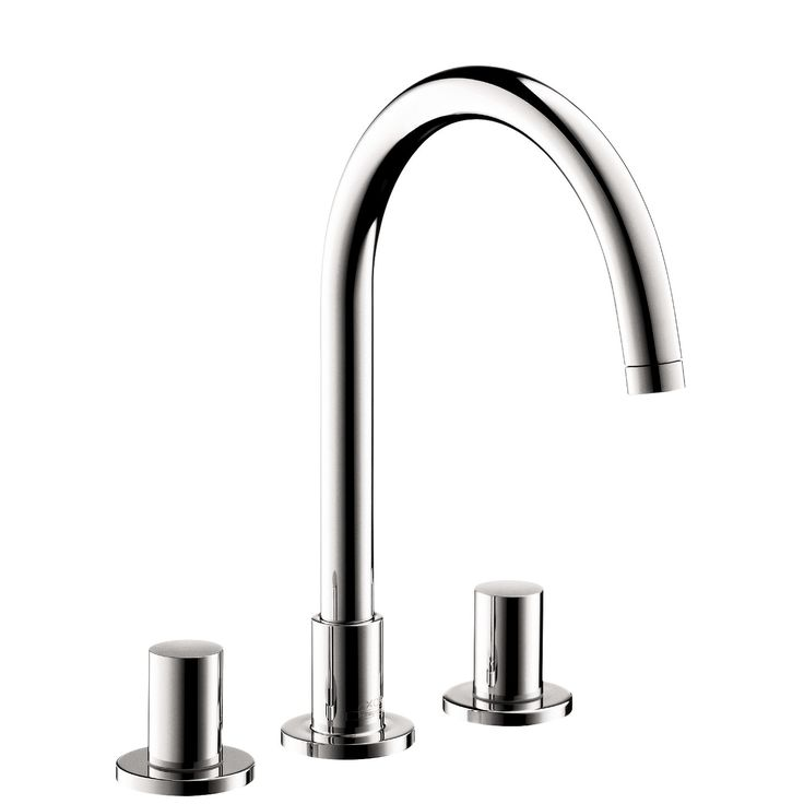 Hansgrohe 38053001 chrome axor uno 2 bathroom faucet widespread faucet with knob handles