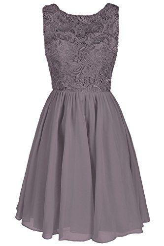 Dresstore Women's Lace Bridesmaid Formal Short Homecoming Dress Grey US 6 Dresstore http://www.amazon.com/dp/B01ARPEJ6S/ref=cm_sw_r_pi_dp_5N7Nwb14WJ9CZ maybe for Jess' wedding