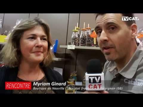 ►Perpignan : Myriam Ginard, chocolats de Neuville, crée l'événement - Le...