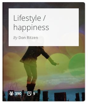 Some articles I really like that make you think differently about life, and how to enjoy it to the fullest.