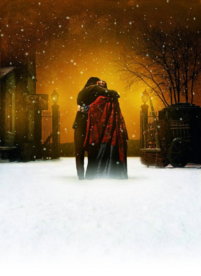 End of Act 1 La Boheme. My most favorite act in any opera. It ends with the two lovers off stage harmonizing Amore, Amore Amore.