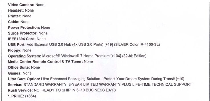 My pc's specs Page 2