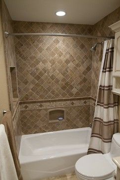 Dynasty, Cherry, Nutmeg, Onyx - traditional - bathroom tile - los angeles - Kitchens Etc. of Ventura County