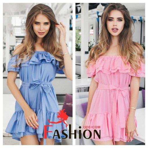 🌸1️⃣2️⃣3️⃣9️⃣руб🌸 Платье с открытыми плечами с широкими оборками у плеч и на подоле TM B&H №049 Размеры: универсальный (XS-М). Цвета: бежевый, зеленый, белый, голубой, розовый, черный. Материал: хлопок.