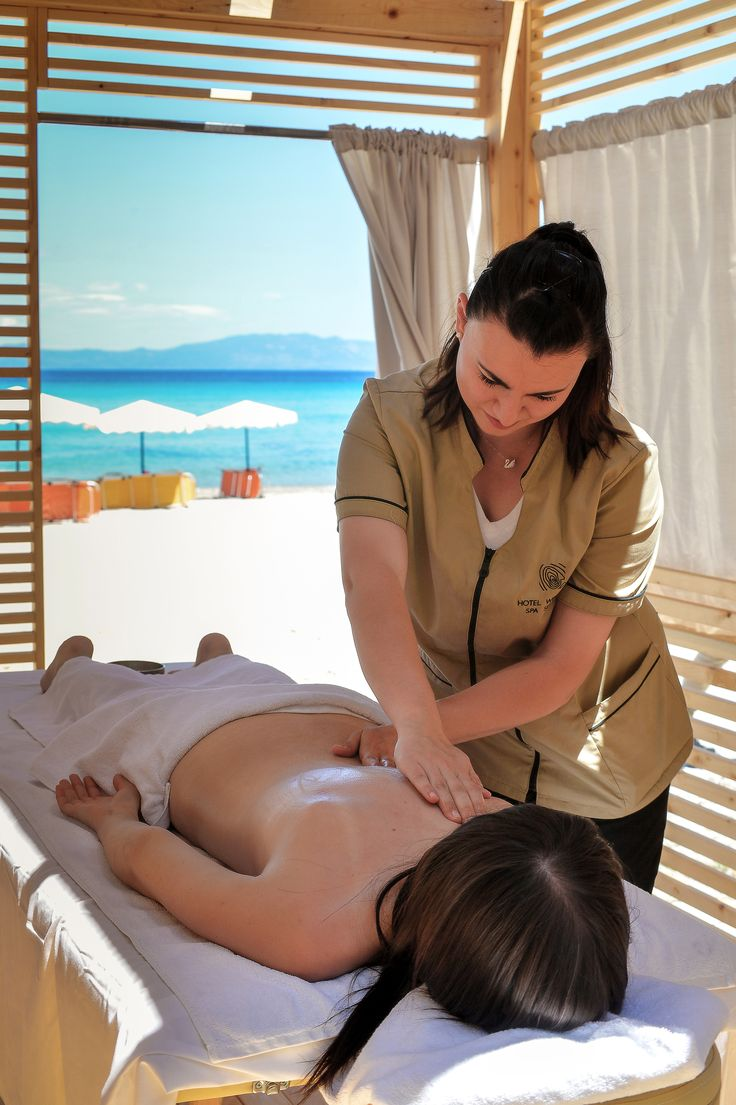www.paphotels.com Beach massage - yes please! Relax and let the sea breeze take you to summer wonderland. Book your perfect vacation at Alexander the Great Beach Hotel in Kryopigi Greece