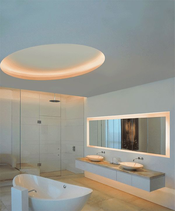 17 best images about edge lighting bath and vanity on for Ultra modern light fixtures