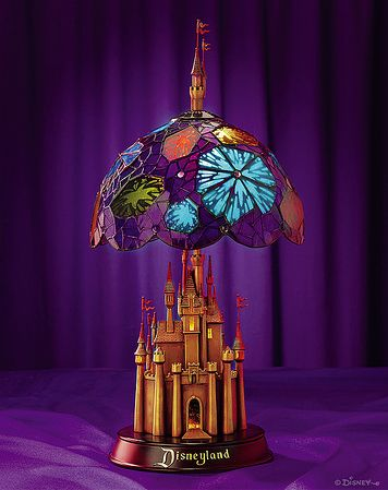 Disney lamp! I absolutely want this, but in a Disney World version