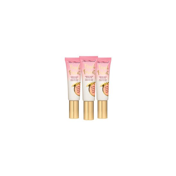 Peach Perfect Foundation via Polyvore featuring beauty products, makeup, face makeup and foundation