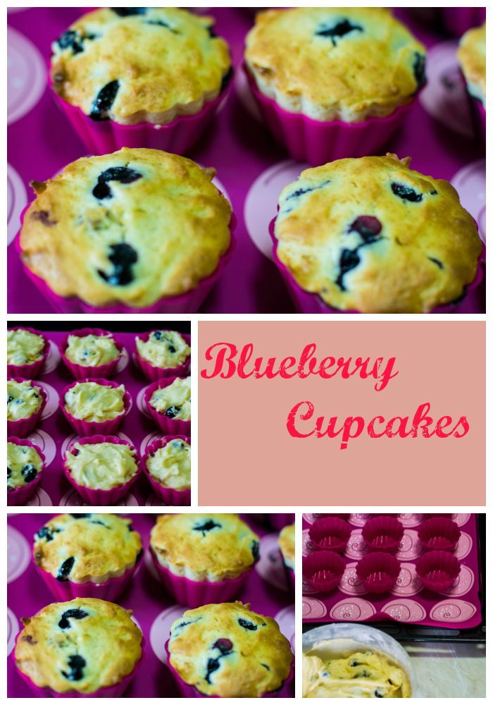 Blueberry Cupcakes - Gorgeous Blueberry Cupcakes that are light, fluffy and ultra-soft. I went a little heavy on the blueberries because I wanted them in every single bite. http://anitacuisine.com/2015/08/11/blueberry-cupcakes/