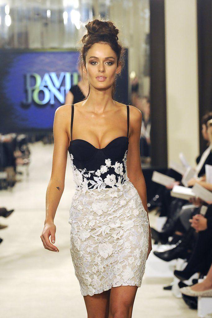 Sexy elegant evening dress ...
