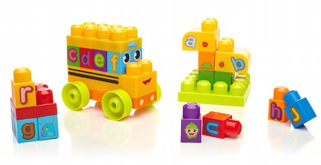 Mega Bloks First Builders A-B-C School Bus {Holiday Gift Idea}