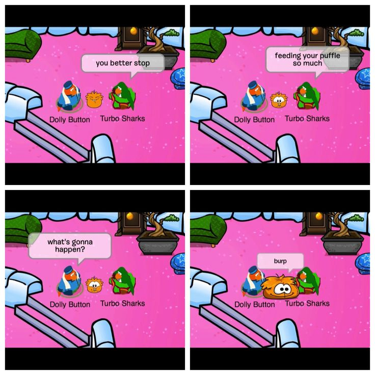Club Penguin - Funny comic :P