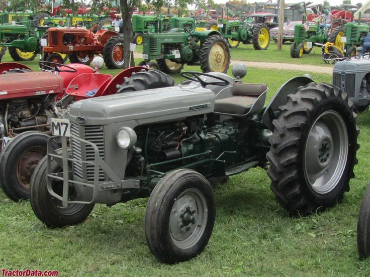 1956 Massey Ferguson 40 Tractor : Best images about ferguson tractor on pinterest old