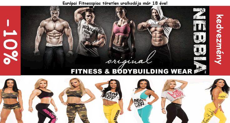 Nebbia Fitness soprtruházat, már 18 éve