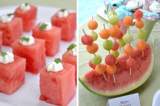 Ideas y cosas para tus fiestas infantiles fruta para for Decoracion de frutas para fiestas infantiles