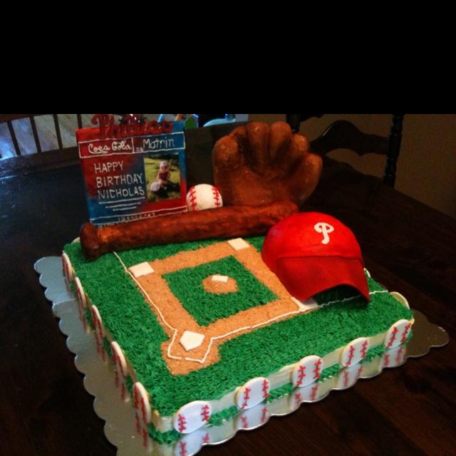 phillies cake