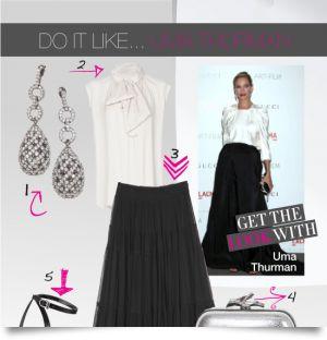 Do it like … Uma Thurman
