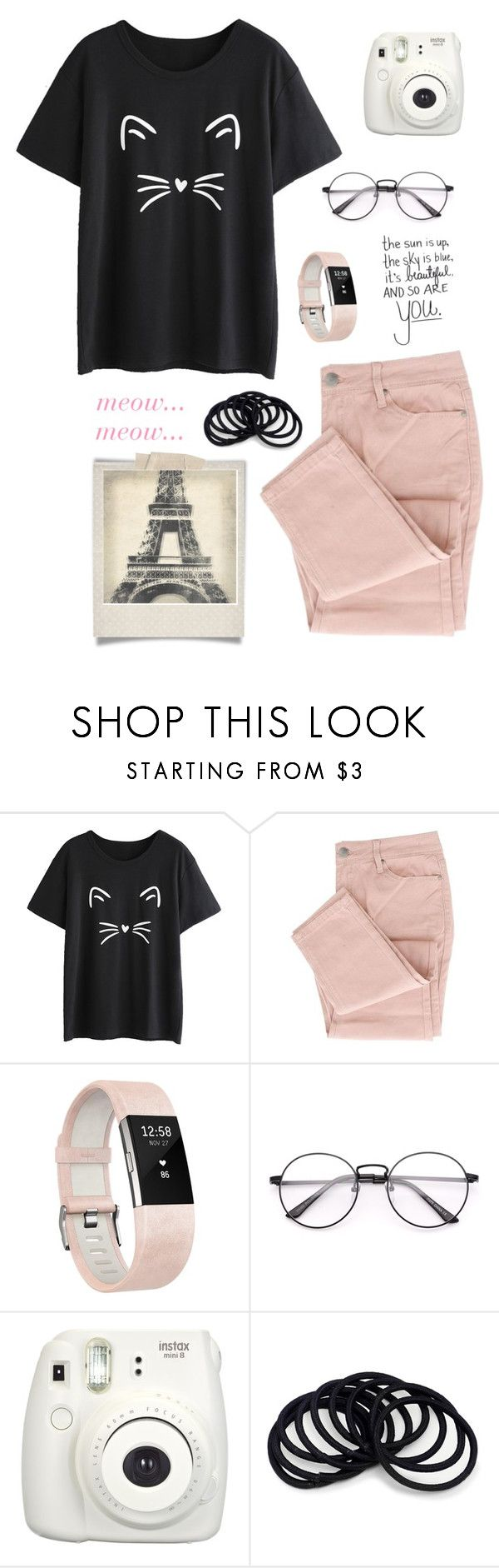 """""""i may be a nerd but im lovable..."""" by at-39thst-fashion ❤ liked on Polyvore featuring Fitbit, Fujifilm, Polaroid and Leftbank Art"""