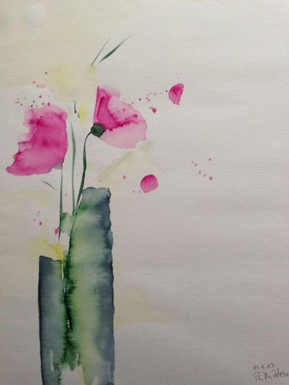 182 best bilder images on Pinterest   Water colors, Watercolour and ...