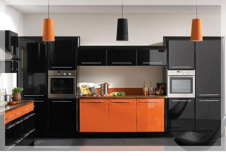 Kitchen orange color