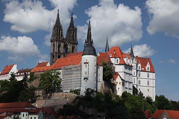 Albrechtsburg in Meißen  from http://www.sachsen-virtuell.de