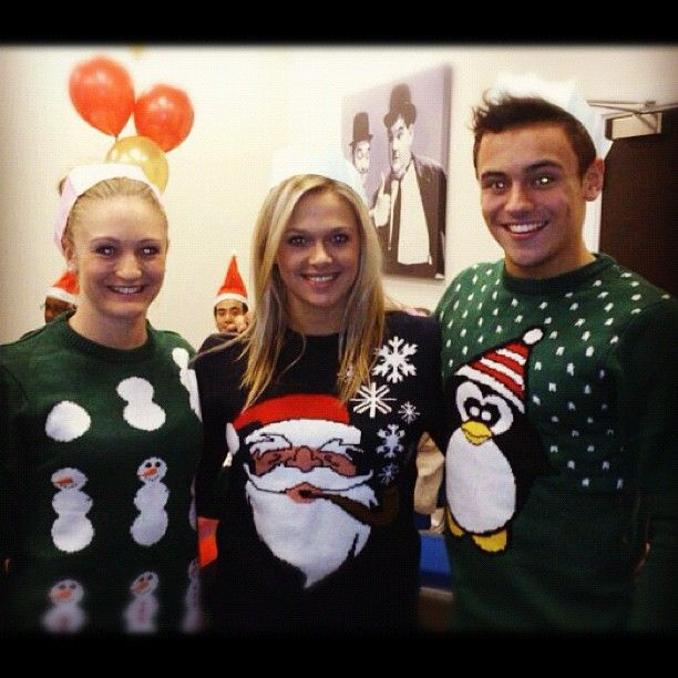 Tonia  Couch  --          Xmas jumpers. :)