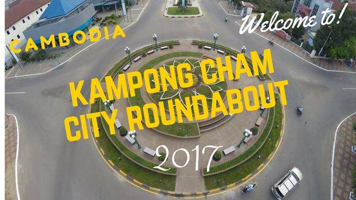 Fork Road Park at Kampong Cham City | Walking Around Kampong Cham City |...