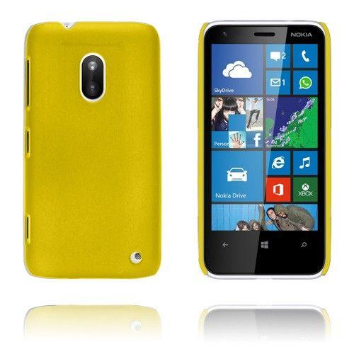 Hard Shell (Keltainen) Nokia Lumia 620 Suojakuori - http://lux-case.fi/hard-shell-keltainen-nokia-lumia-620-kotelo.html