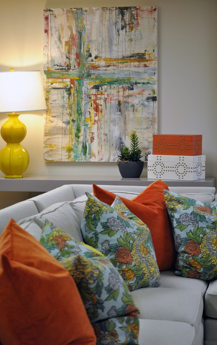 Blog — Designs by Katie Grace @kghenry: Pillows are @dwellstudio for Robert Allen #fabric, Ming Dragon!