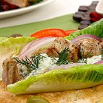 This souvlaki marinade is absolutely delicious! Use on chicken too instead of pork!