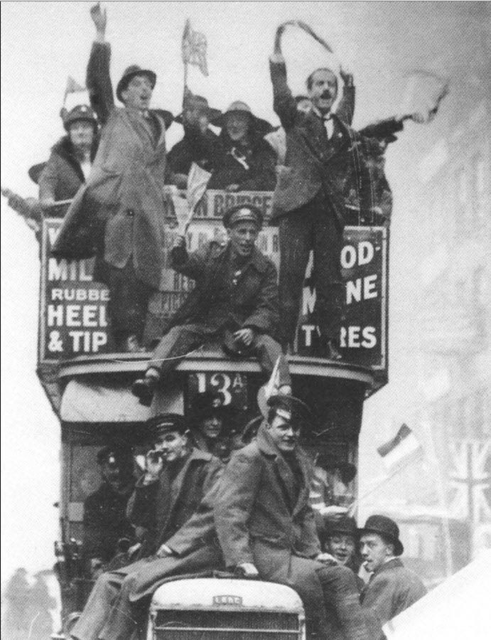 November 11, 1918--Armistice Day. World War I ends. From star1950 on Flickr.