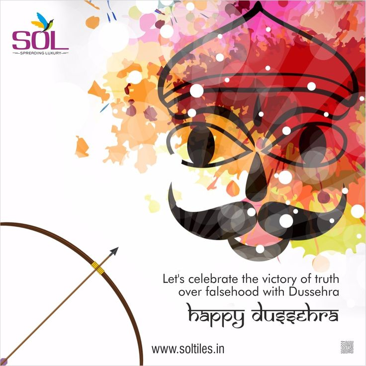 soltilesLet's celebrate the victory of truth over falsehood with Dussehra - Happy Dussehra!  #soltiles #tiles #walltiles #ceramic #dussehra #festival #celebration #vijayadashami #india #TransformationTuesday #TT #TipTuesday #TravelTuesday #TuesdayTreat