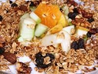 This is one of the best breakfasts you could have to satisfy your hunger for hours, great a couple hours before a hard workout, and DELICIOUS. Muesli is customizeable so I decided to post a basic starter recipe and you can switch around the fruits and nuts as you like. Enjoy! I will.