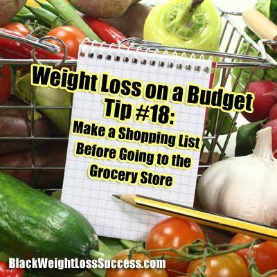 Abnehmen mit kleinem Budget Tipp Nr. 18: Erstellen Sie eine aktuelle Einkaufsliste  – Food Swaps and Eating Tips
