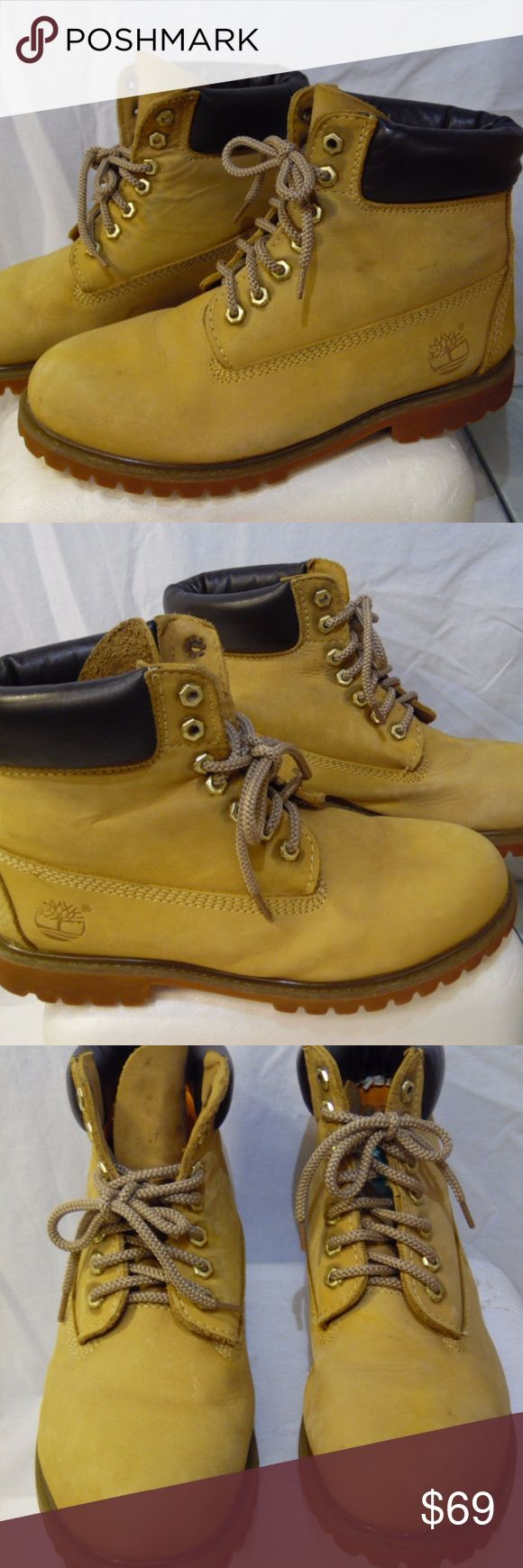 Timberlands men's tan boots size 11M 20% OFF DURING 48 HOUR SALE ONLY...NO OFFERS ARE CONSIDERED..Pre owned, lightly used, light scuffs in front, no wear. clean and pristine.. Timberland Shoes Boots